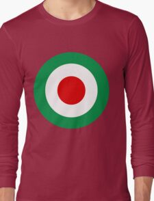 Target Italy Red White Green Long Sleeve T-Shirt