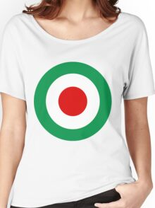 Target Italy Red White Green Women's Relaxed Fit T-Shirt