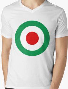 Target Italy Red White Green Mens V-Neck T-Shirt