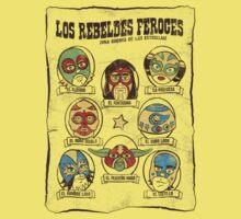 Los Rebeldes Feroces One Piece - Short Sleeve
