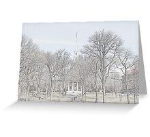 Memorial Church - Harvard Yard Greeting Card
