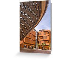 Masdar City Abu Dhabi UAE Greeting Card