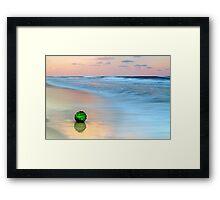 The Green Ball Framed Print