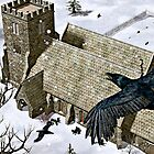 Church Ravens by Peter Sucy