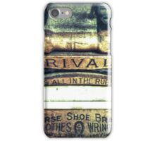 It's All In The Rubber  iPhone Case/Skin