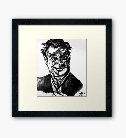 Rodney Dangerfield-Last Respect Framed Print