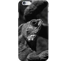 Lizard Black and White iPhone Case/Skin