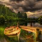 Loch Ard Jetty by Don Alexander Lumsden (Echo7)