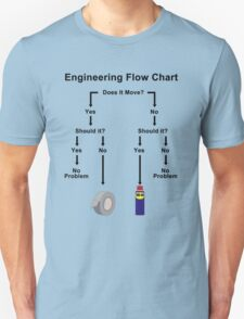Engineering Flow Chart T-Shirt