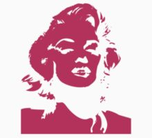 Monroe Pink 2 - Sticker by Thomas Wells