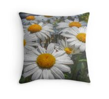 Sparkles after the rain Throw Pillow