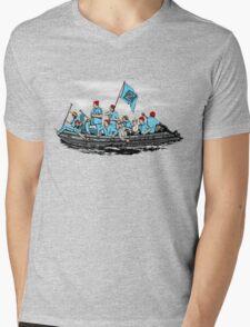 Team Zissou 2 Mens V-Neck T-Shirt