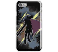 Super Smash Bros. Black/Gold Lucina Silhouette iPhone Case/Skin