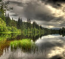 Loch Ard Reflections by Don Alexander Lumsden (Echo7)