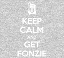 Keep Calm - Get Fonzie Kids Tee