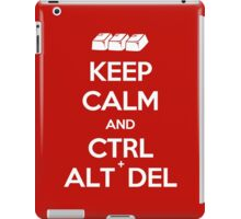 Keep Calm - Ctrl + Alt + Del iPad Case/Skin