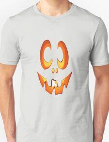 Vector Image of Friendly Halloween Pumpkin T-Shirt