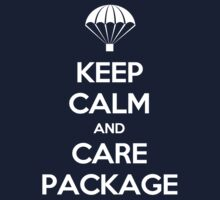Keep Calm - Care Package Baby Tee
