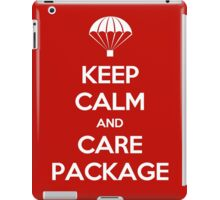 Keep Calm - Care Package iPad Case/Skin
