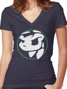 Daxter Logo Women's Fitted V-Neck T-Shirt