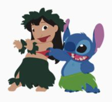 Lilo & Stitch Hula Time - Sticker by Thomas Wells