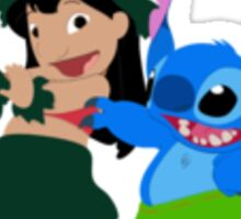 Lilo & Stitch Hula Time - Sticker Sticker
