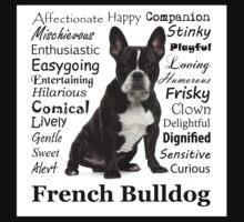 French Bulldog Traits Kids Tee