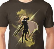 Super Smash Bros. Yellow Lucina Silhouette Unisex T-Shirt