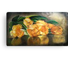 55. Yellow Tulips Canvas Print