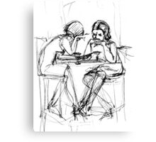 Can We Talk? NYConversations Canvas Print