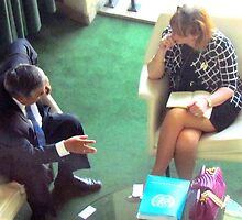 Business Meeting, United Nations - NYC by Alberto  DeJesus