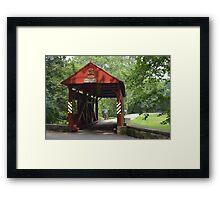 The Henry Bridge Framed Print