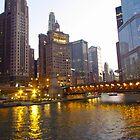Michigan Avenue Bridge by Kam Johnson