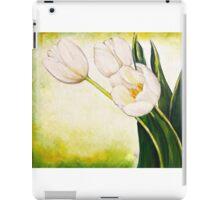 54. White Tulips iPad Case/Skin