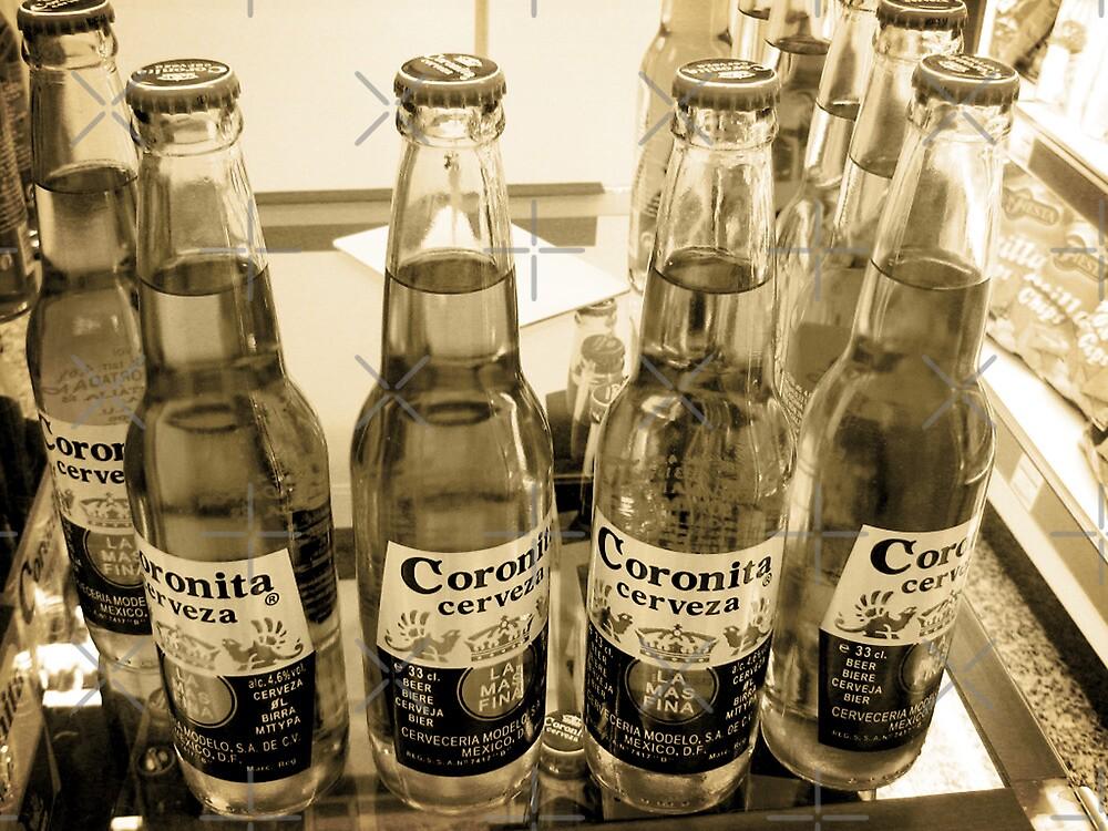 Beer Bottles by Maria  Gonzalez