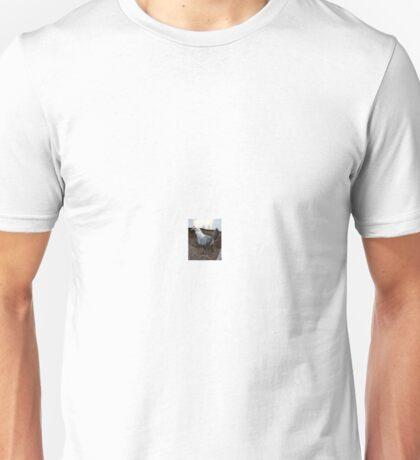 Hen in Tuxedo Unisex T-Shirt