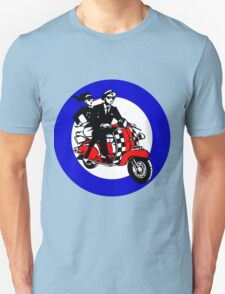 Ska Scooter Couple Target Unisex T-Shirt