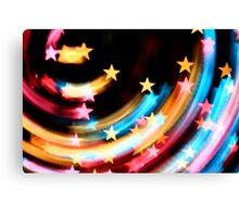 Stars Colours Canvas Print