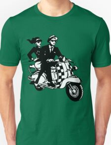 Ska Couple on Scooter Unisex T-Shirt