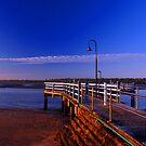 Baxters Jetty, Shorncliffe at first light. Brisbane, Queensland, Australia. (2) by Ralph de Zilva
