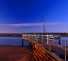 Baxters Jetty, Shorncliffe at first light. Brisbane, Queensland, Australia. (2) by Ralph de Zilva