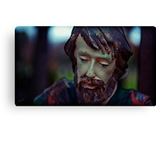 tired, joseph looks for comfort Canvas Print