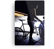 light frame Metal Print