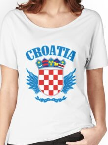 Croatia Coat of Arms Women's Relaxed Fit T-Shirt