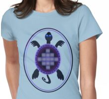 Courageous Turtle Womens Fitted T-Shirt