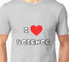 I Heart Science Unisex T-Shirt