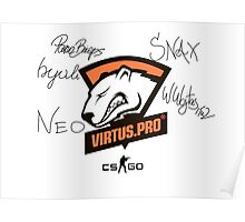 Virtus.pro signed players Poster