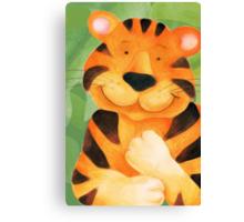 Kiddies Tiger Canvas Print