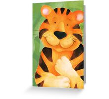 Kiddies Tiger Greeting Card