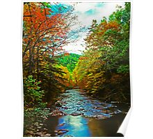 LITTLE RIVER, AUTUMN Poster